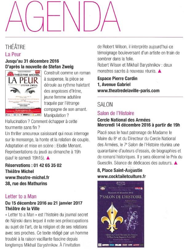 Agenda Paris 8 - 7ème Salon de l'Histoire