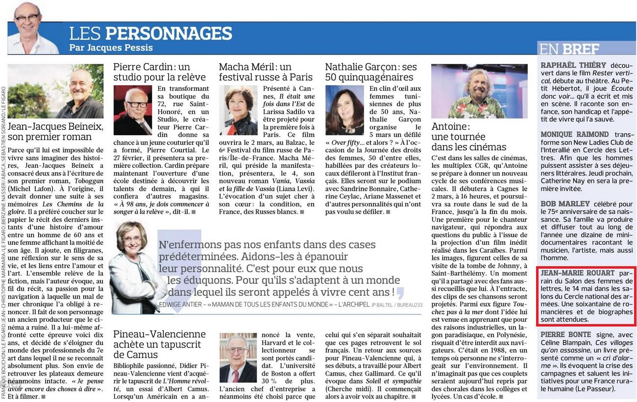 Article Figaro 22 février 2020
