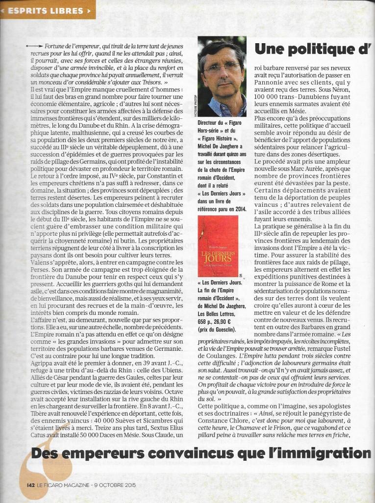 Article Figaro Prix du Guesclin 11.10.15
