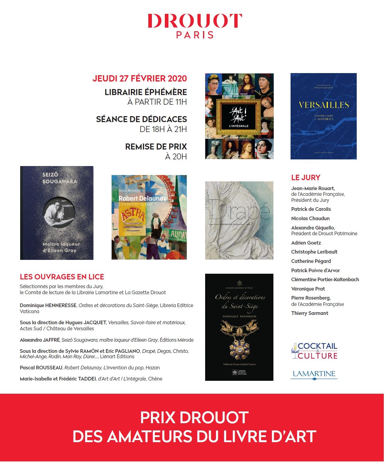 Article Gazette de Drouot du 4 février 2020