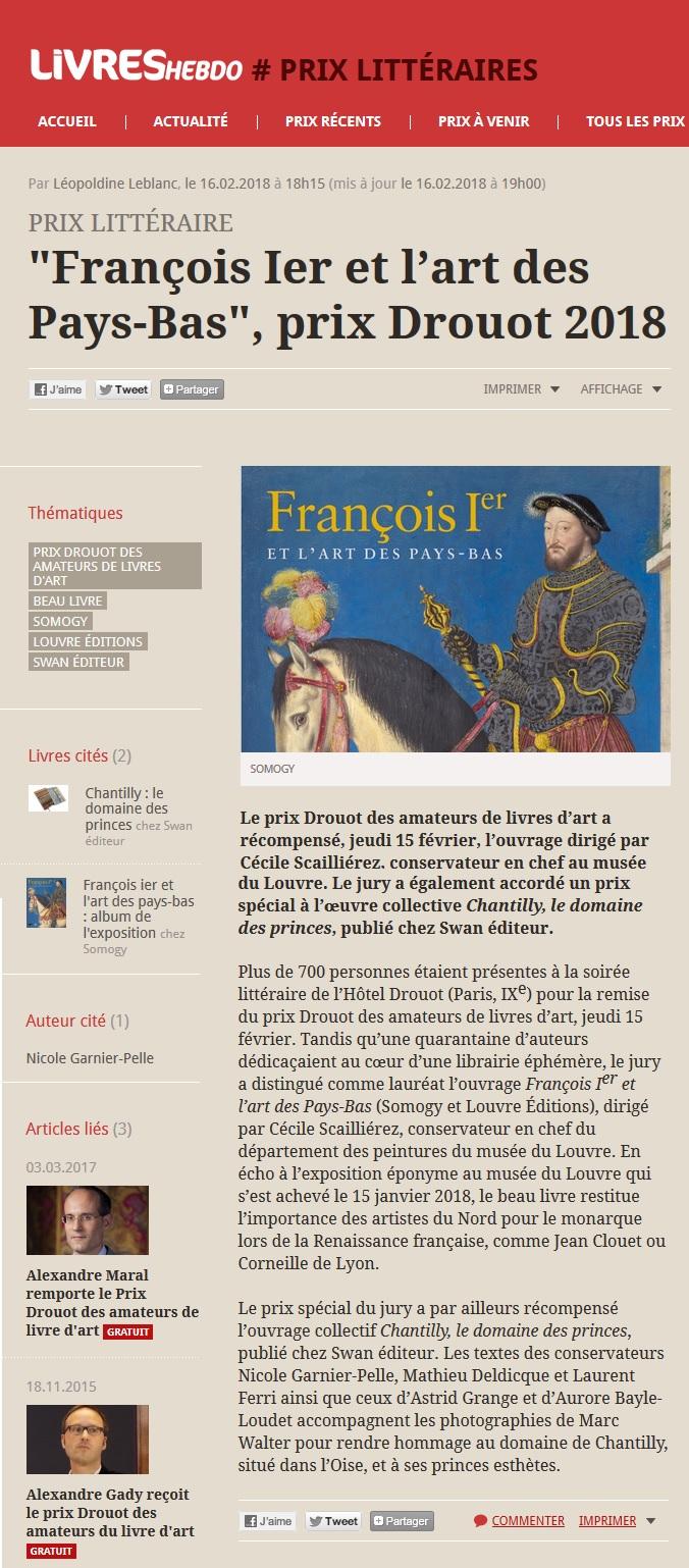 Article Livres Hebdo 16.02.18