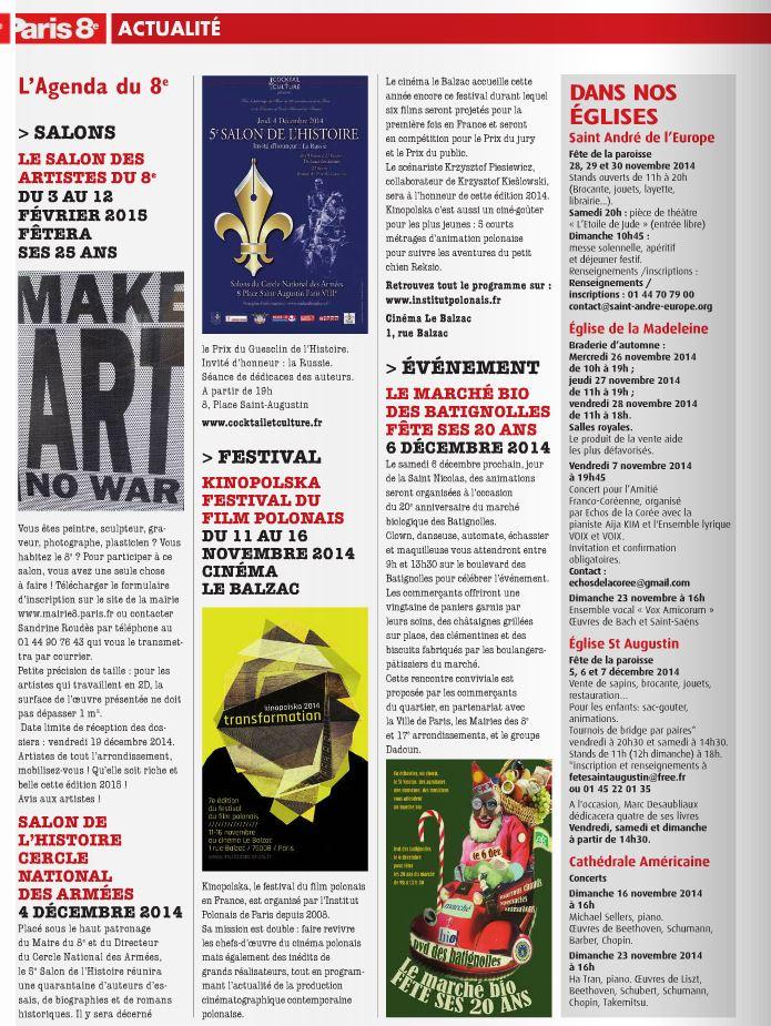Article Paris 8 - 5ème Salon de l'Histoire