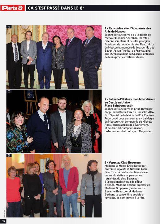 Article Paris 8 Salon de l'Histoire 2014