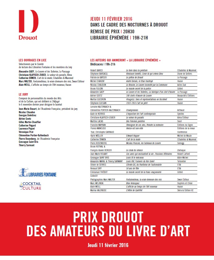 Article Prix Drouot Gazette de Drouot