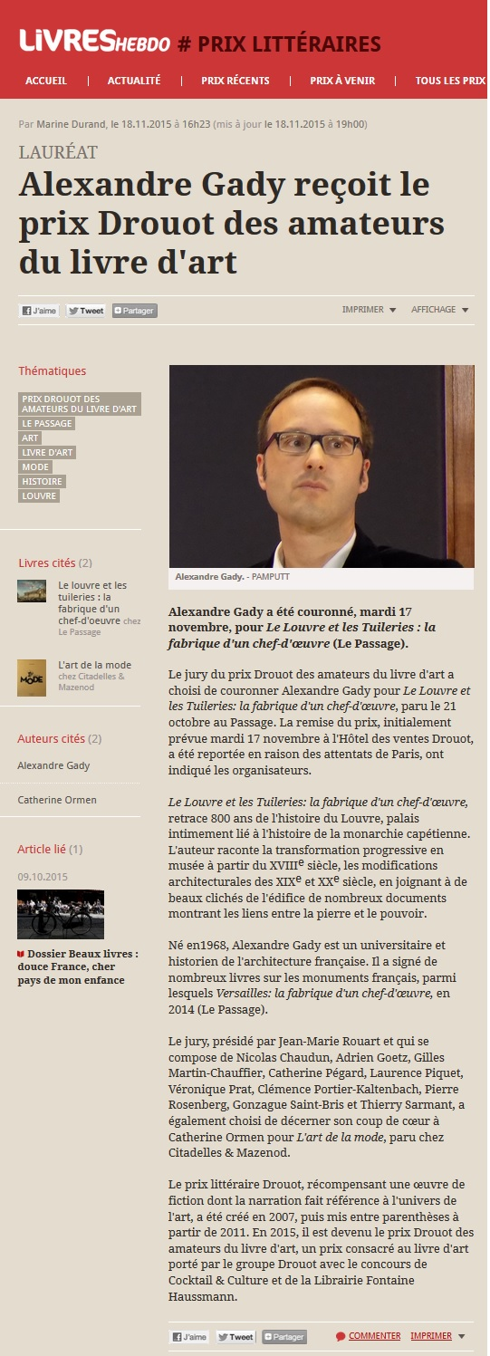 Article Prix Drouot Livres Hebdo