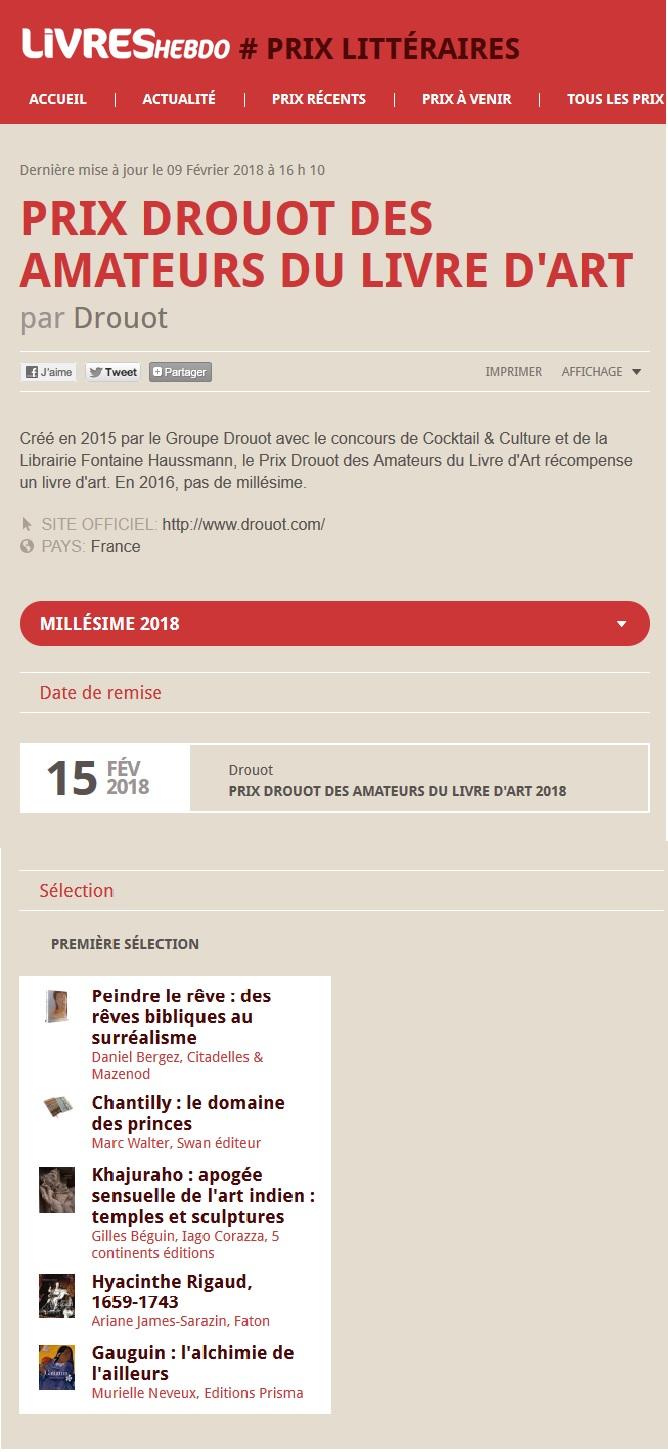 Articles Livres Hebdo 5 février 2018