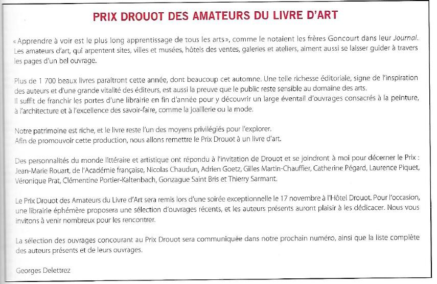 Gazette Drouot 30.10.15