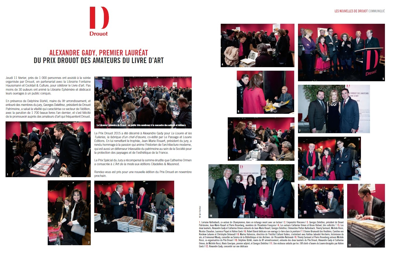 Gazette de Drouot - Prix Drouot 2015 A