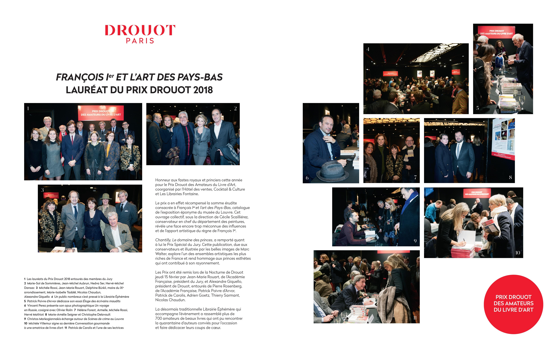 Gazette de Drouot - Résultats Prix Drouot 2018