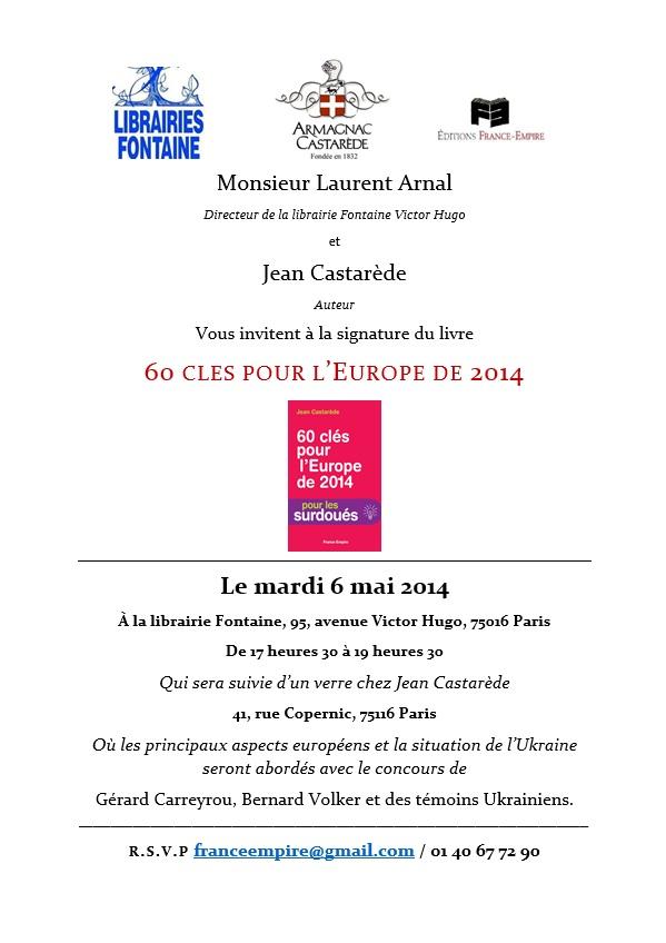 INvitation Castarède 6 mai