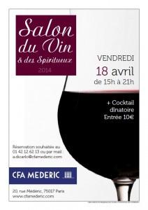 Salon du vin CFA