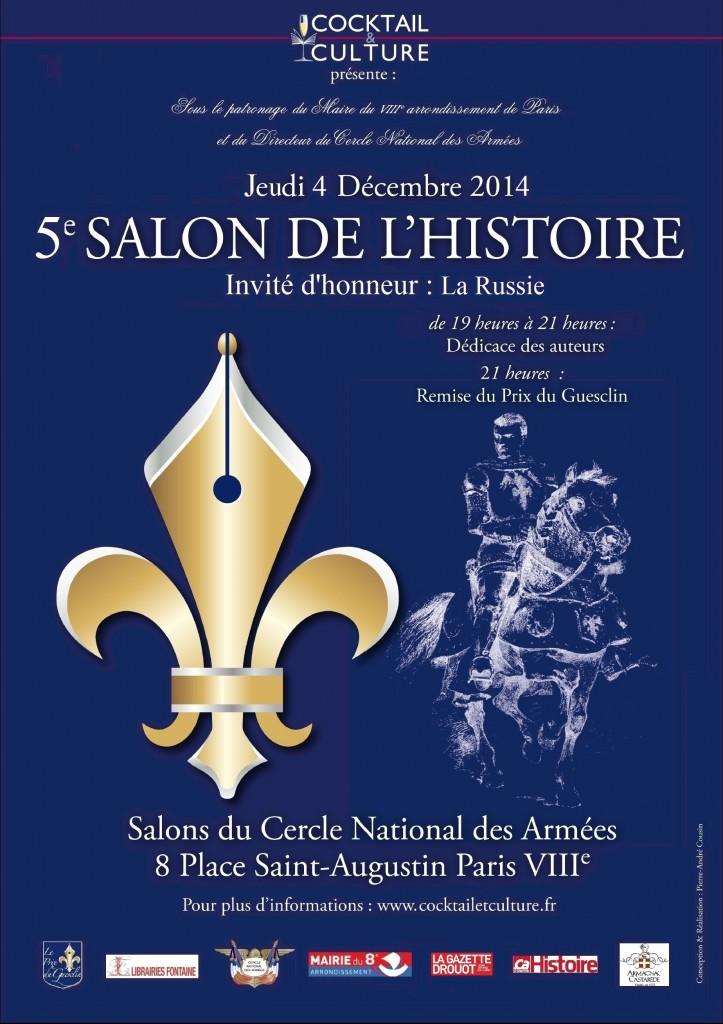 Projet Affiche Salon de l'Histoire 2014
