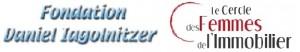 Logo Fondation et Cercle des Femmes de l'Immobilier