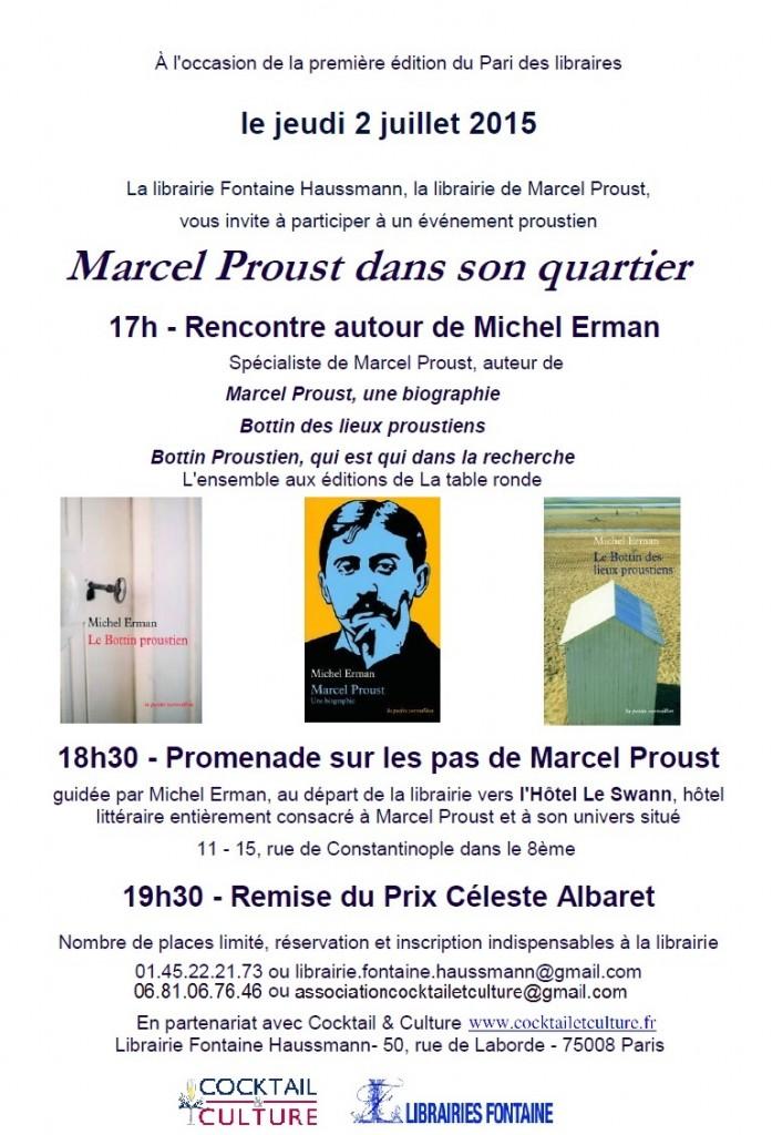 Invitation Prix Céleste Albaret