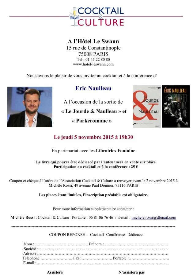 Invitation Eric Naulleau