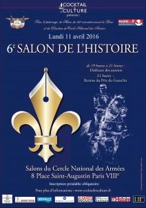 Affiche 6eme Salon de l'Histoire