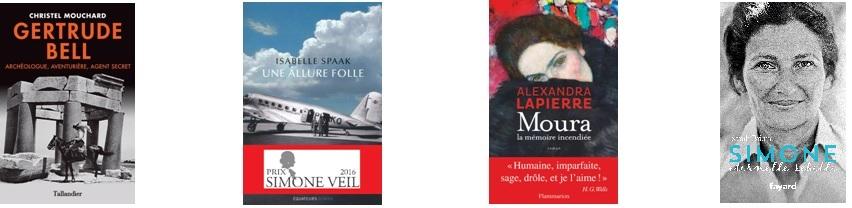 Résultats Prix Simone Veil 2016
