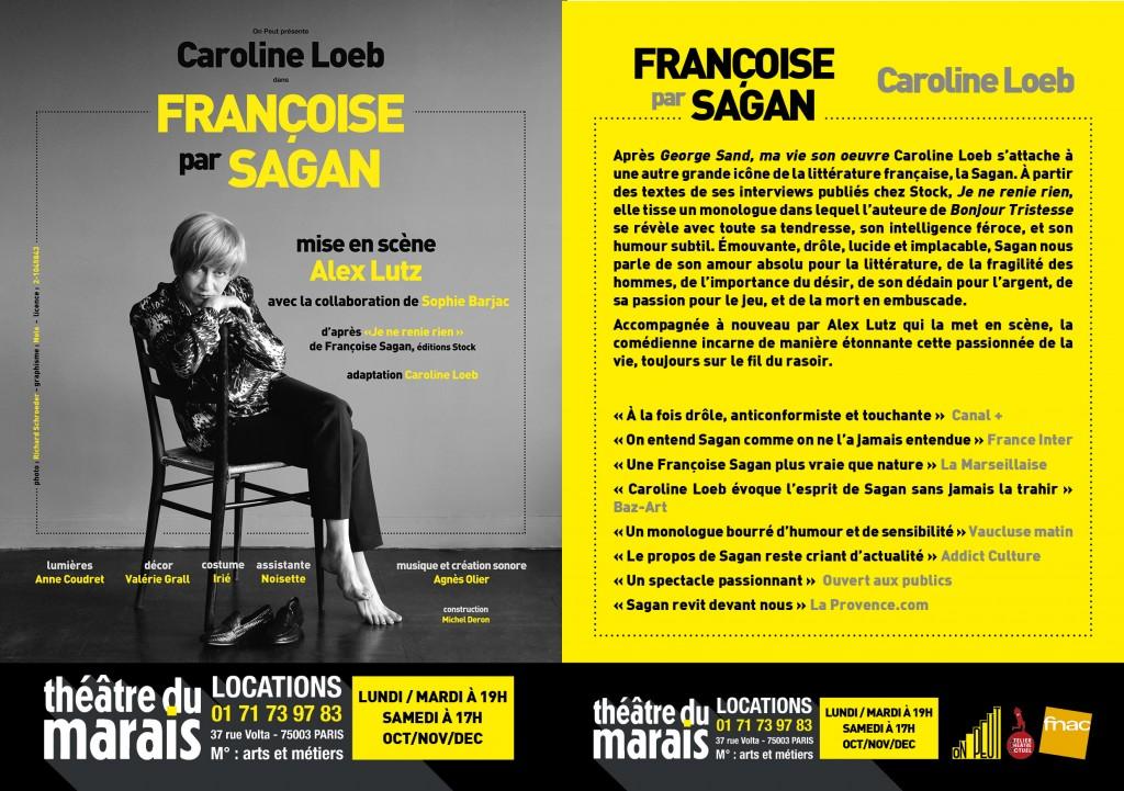Caroline Loeb Françoise par Sagan 2