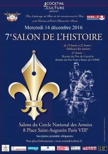 Affiche 7eme Salon de l'Histoire - FR