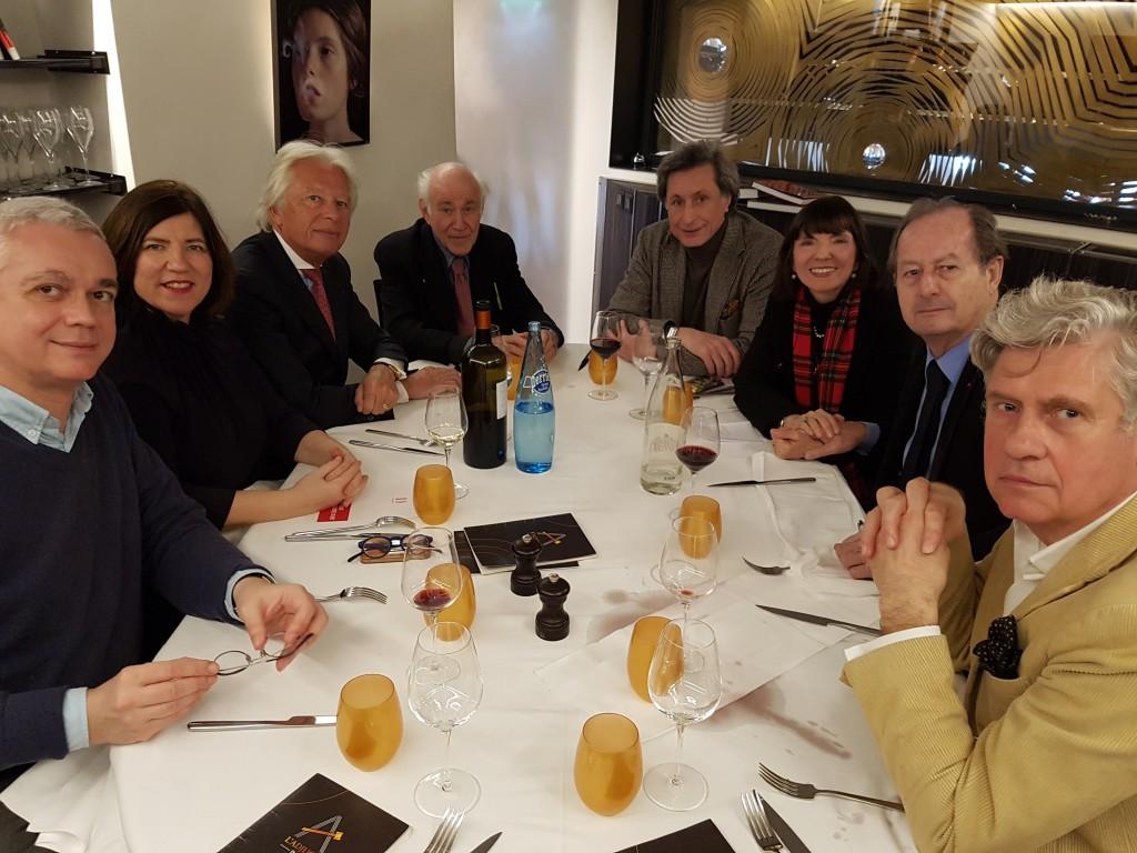 Déjeuner de délibération Prix Drouot 2017
