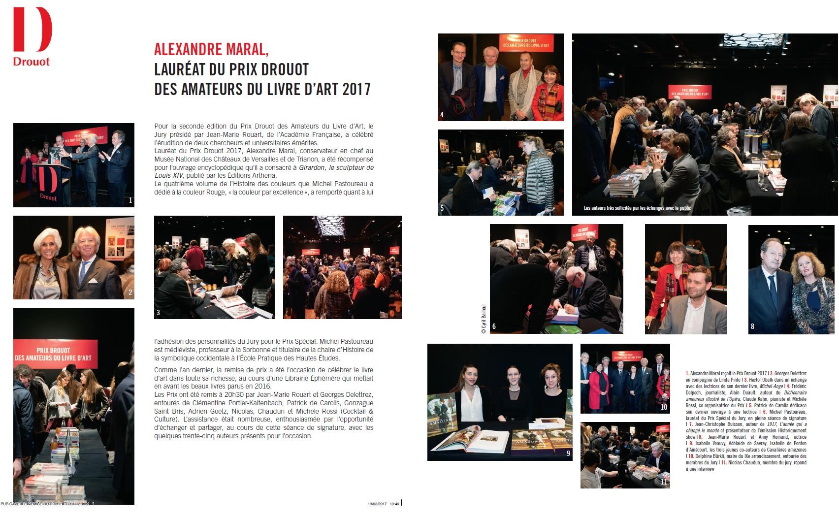 Gazette de Drouot - Résultats Prix Drouot 2017