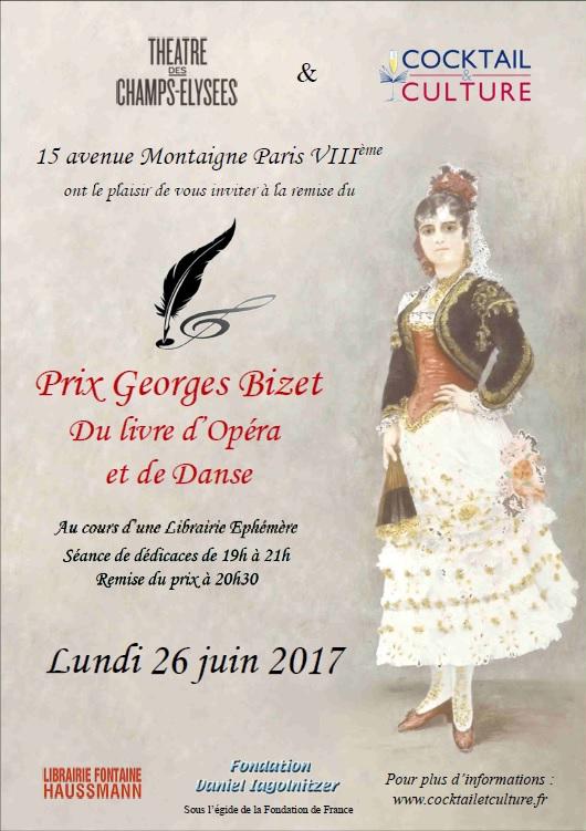Affiche Prix Georges Bizet 2017