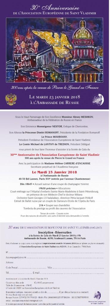 30ème anniversaire association Saint Vladimir