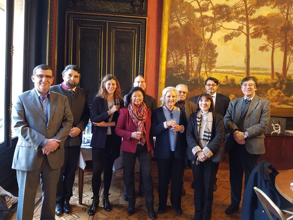 Déjeuner de délibération Prix du Guesclin 2017