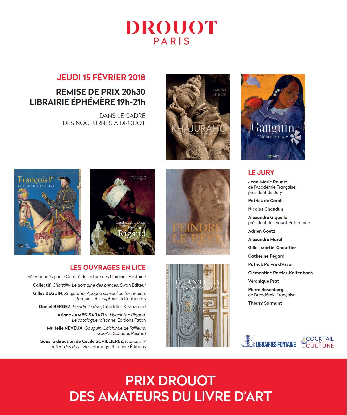 Gazette de Drouot - Finalistes Prix Drouot 2018