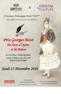 Affiche Prix Georges Bizet 2018