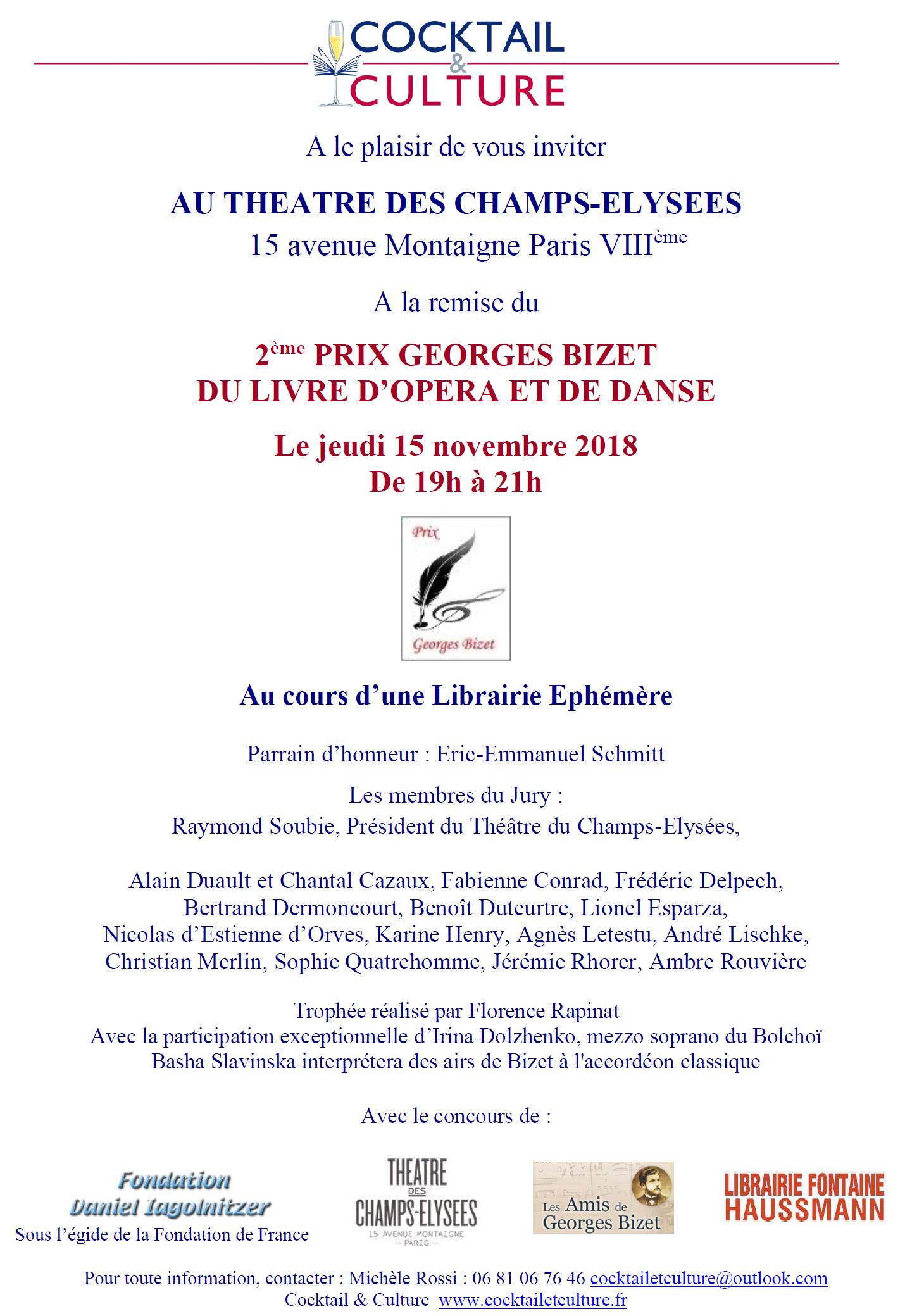 Invitation Bizet