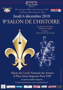 Affiche 9eme Salon de l'Histoire