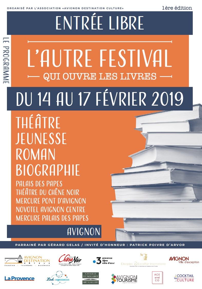 Affiche L'autre Festival Avignon 14-17 février 2019