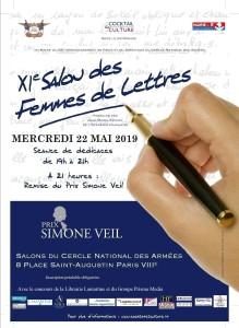 Affiche 11ème Salon des Femmes de Lettres