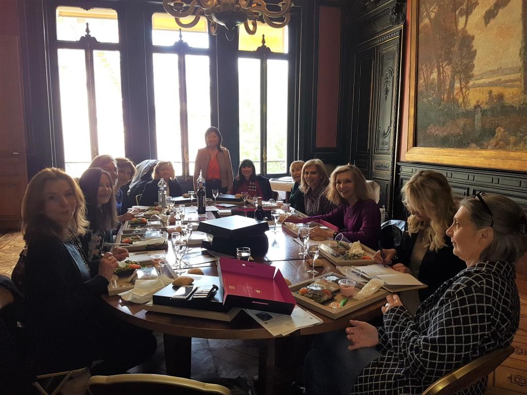 Déjeuner de délibération Prix Simone Veil 2019 - 2