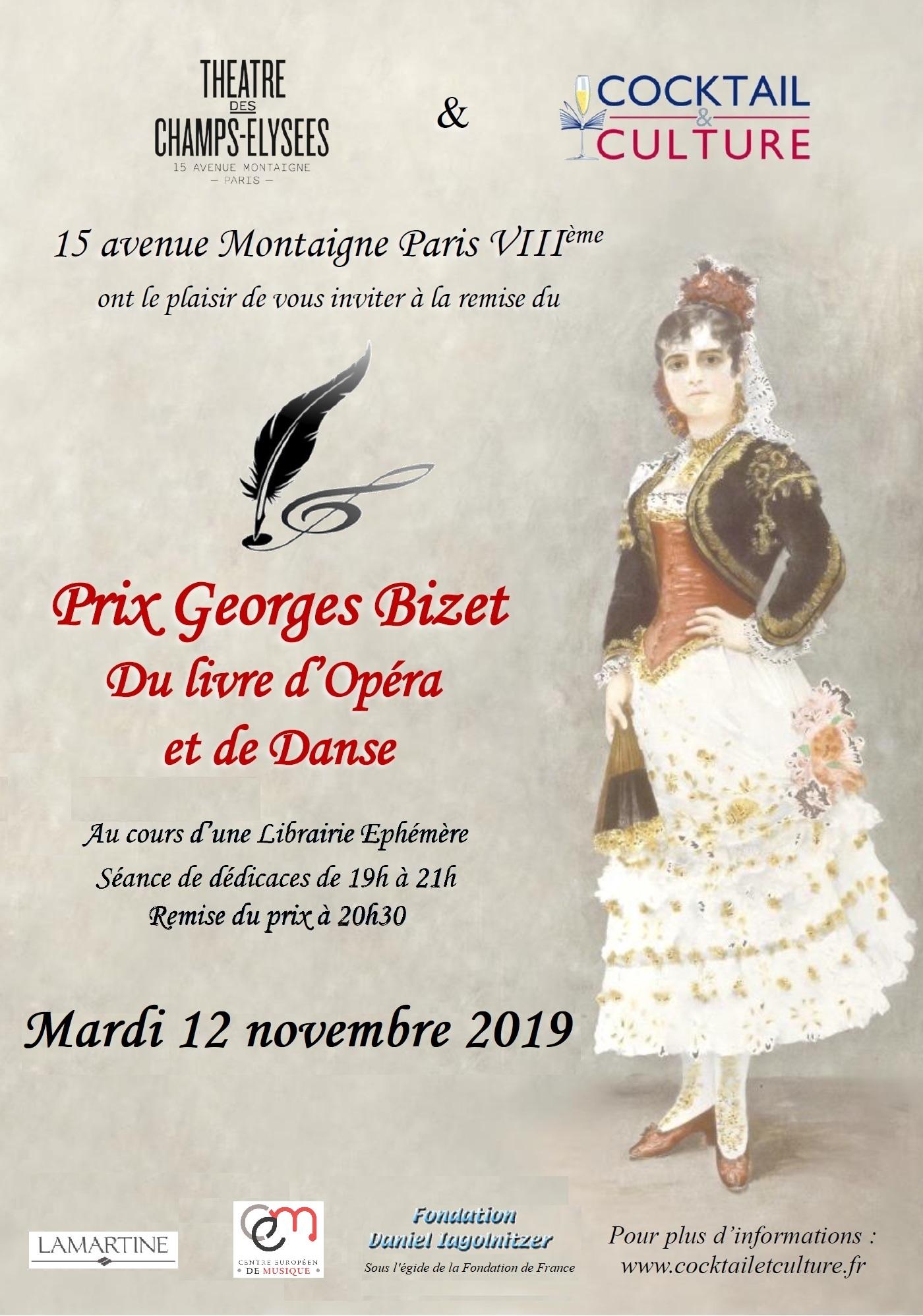 Affiche Prix Georges Bizet 2019