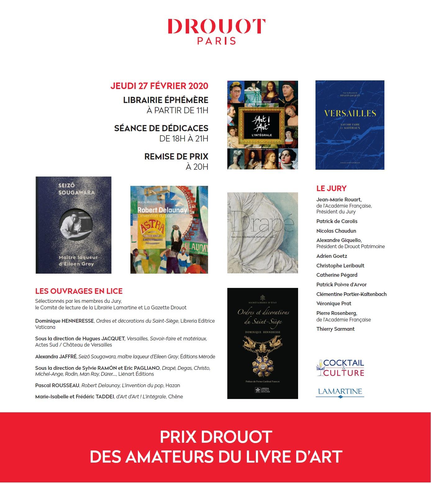 Gazette Drouot Finalistes Prix Drouot 2020