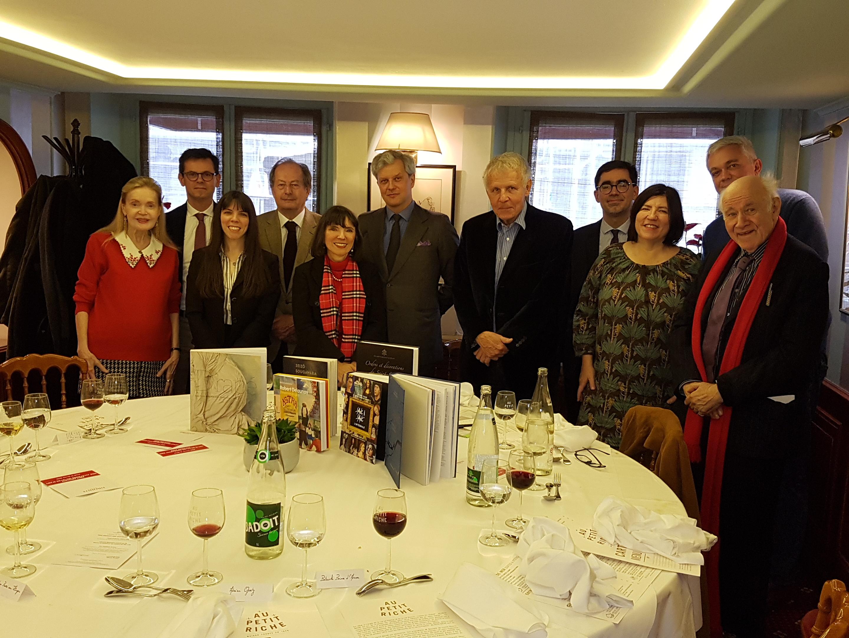 Photo déjeuner de délibération Prix Drouot 2020