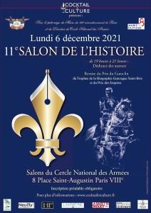 Affiche 11e Salon de l'Histoire nouveau logo